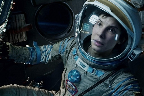 Sandra Bullock in Gravity (Image © Warner Bros.)