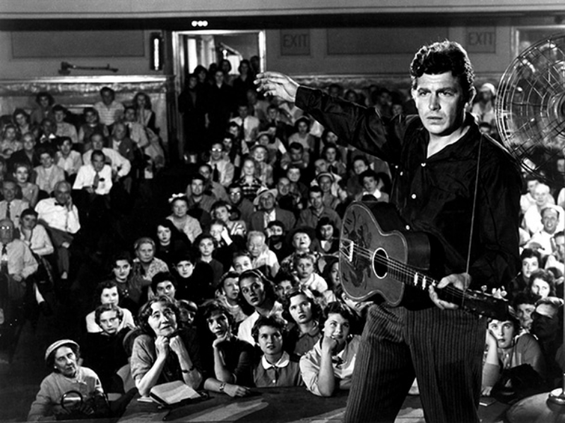 Andy Griffith in  A Face in the Crowd  (Image © Warner Bros.)