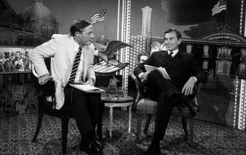 William F. Buckley and Gore Vidal square off.