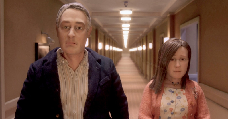 The puppet figures of Charlie Kaufman's  Anomalisa , (Image copyright Paramount Pictures)