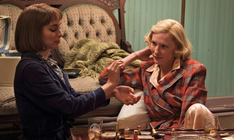 Rooney Mara and Cate Blanchett in Carol (Image copyright Studio Canal UK/ The Weinstein Company)