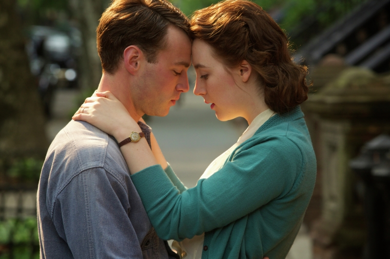 Emory Cohen and Saoirse Ronan in  Brooklyn  (Image copyright 20th century Fox)