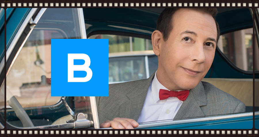 Paul Reubens stars in Pee-wee's Big Holiday. Image © Apatow Productions & Netflix