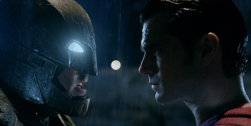 Batman v. Superman: at least it does what it says on the box. (Image © Warner Bros.)