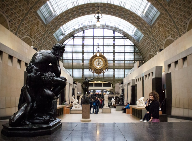 Exchanging Thoughts at the Musée d'Orsay