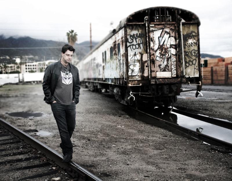 Horror Writer, Abandoned Train Tracks, Los Angeles County