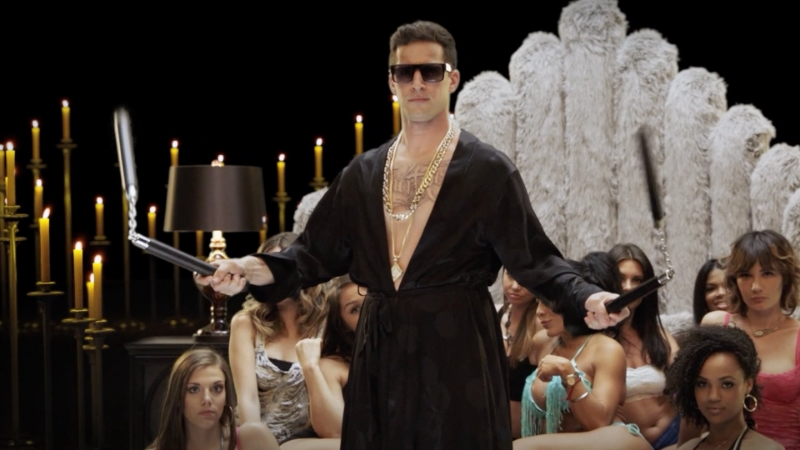 Andy Samberg stars as Conner 4 Real in Pop Star: Never Stop Never Stopping (Image © Universal Pictures).