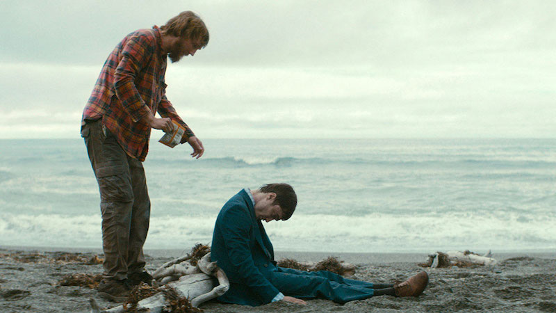 Paul Dano and Daniel Radcliffe in wiss Army Man (Image © A24)