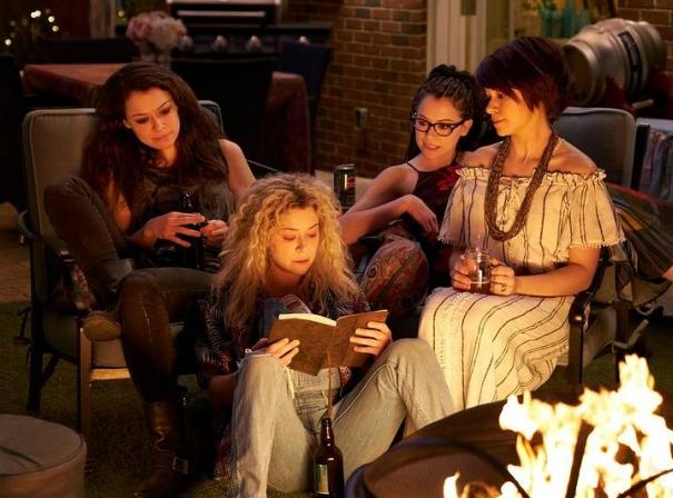 Tatiana Maslany, Tatiana Maslany, Tatiana Maslany, and Tatiana Maslany (Image © Temple Street Productions)