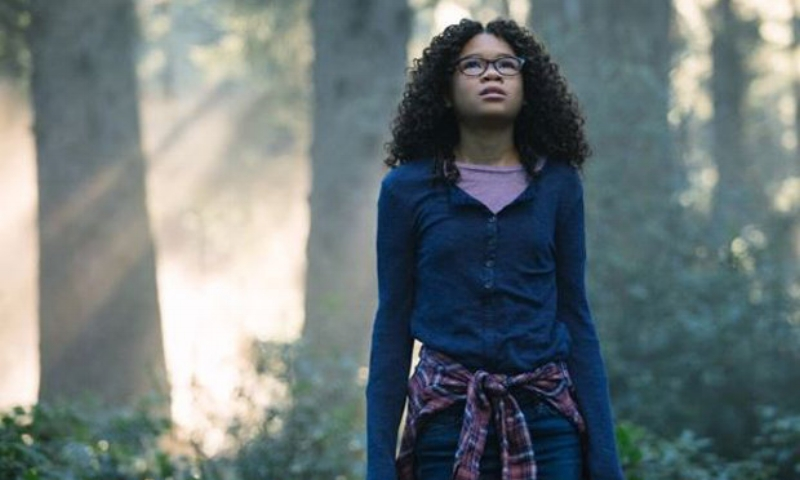 Storm Reid in Disney's  A Wrinkle in Time  (Image © Disney)