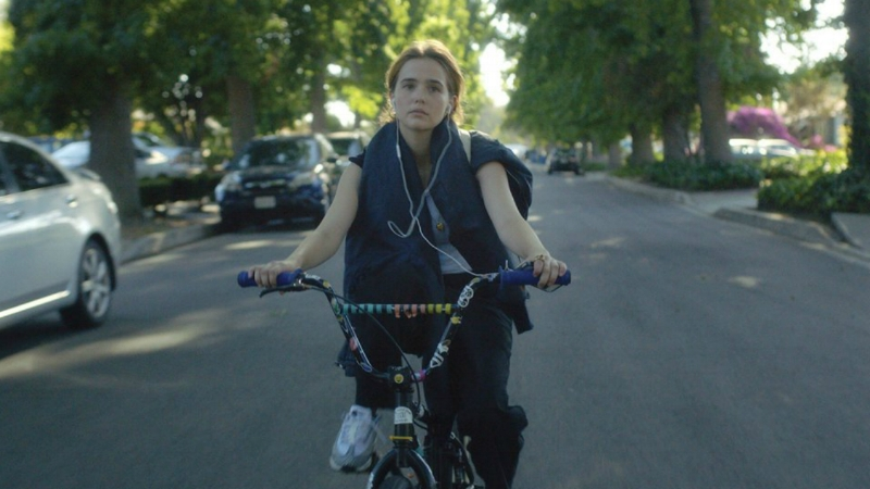 Zoey Deutch stars in  Flower  (Image © The Orchard)