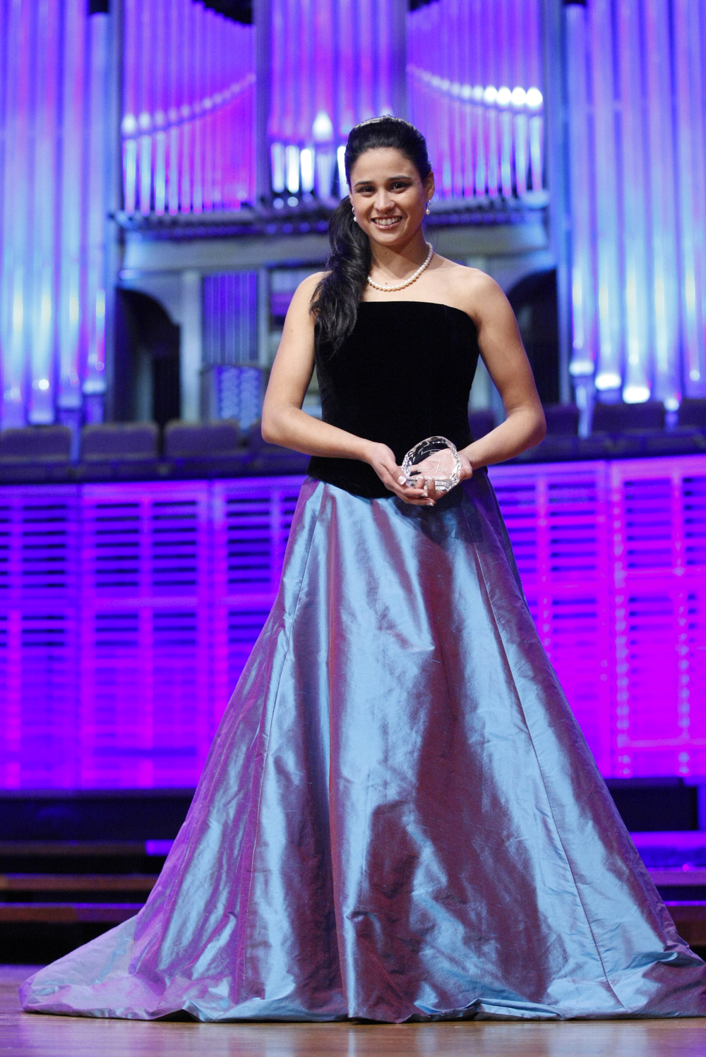 Stacey Alleaume winner of The Sydney Eisteddfod McDonalds Aria 2012. Photo:  ©   WinkiPop Media.