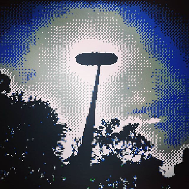 80s 8bit boom pole.  #8bit #pixelated #soundrecording #filmmaking
