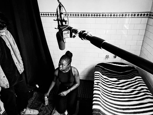 Throwback to the time I got to record the beautiful vocals of Sampa the Great. Such a lovely voice attached to an even more lovely person. @sampa_the_great . . . . #soundforfilm #soundrecordist #melbourne #melbournefilm #filmmaking #boominshot #filmaustralia