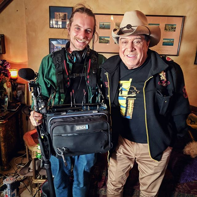 Got to hang out with this aussie legend the other day. What a treat. . . . #aussielegend #australiantv #austrialianfilm #melbournefilm #melbournelife #filmmaking #soundrecordist