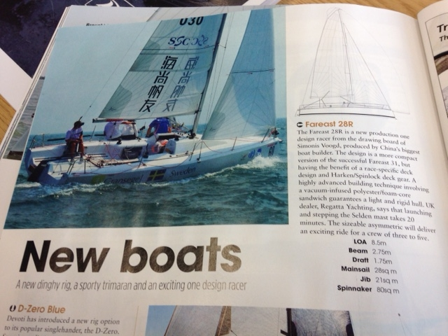Fareast 28R In Yachts and Yachting Magazine - Regatta Yachting