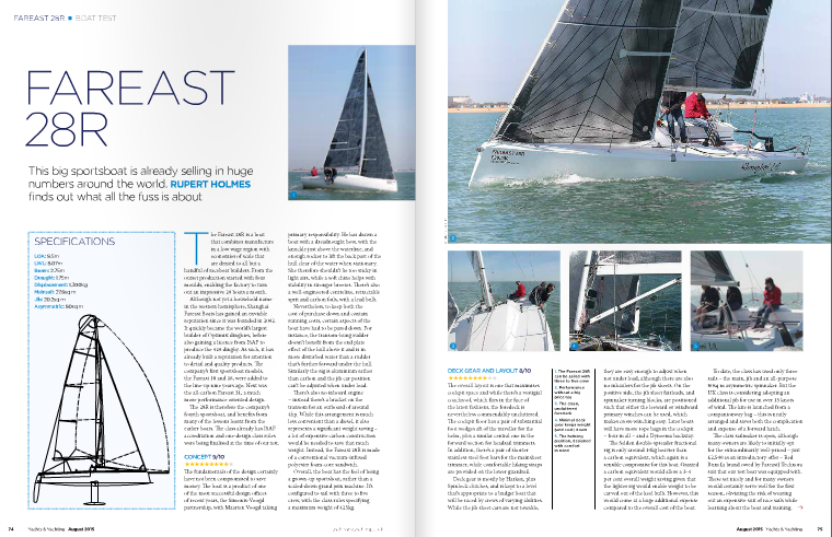 Fareast 28R Yachts and Yachting Review