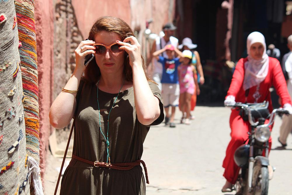 Image: Marie Milligan. Wild Women in Medina.