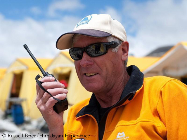 Russell Brice, Founder of Himalayan Experience (HimEx) - the most experienced logistics operator on the mountain.