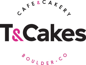 T&Cakes Boulder Cafe & Cakery Branding Graphic Design Logo