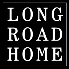 Long Road Home Logo Design Branding Music SOS Media
