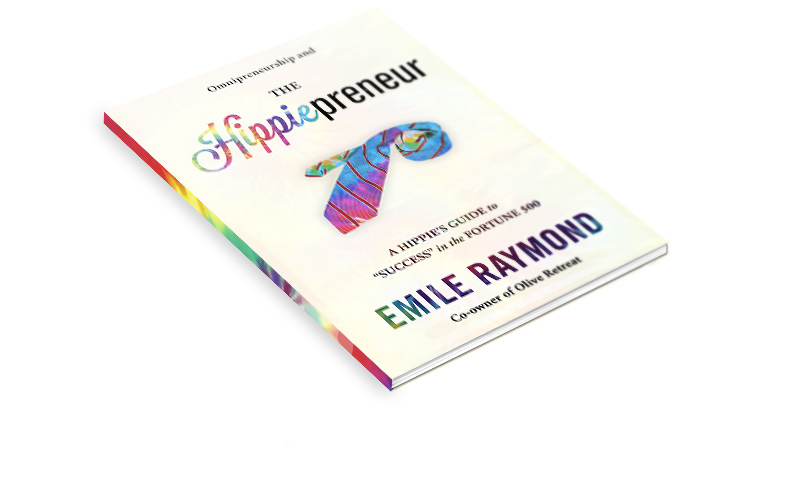 BOOK DESIGN SOS MEDIA The Hippiepreneur by Emile Raymond