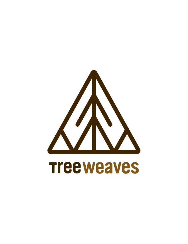 Tree Weaves Logo SOS Media Logo Design Branding Corporate Identity