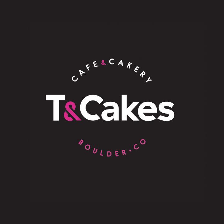 T&Cakes SOS Media Logo Design Branding Cafe Boulder Cupcakes
