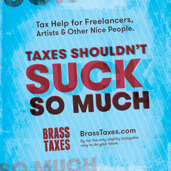 Client: Brass Taxes    Services: Branding, creative consulting, print & web design