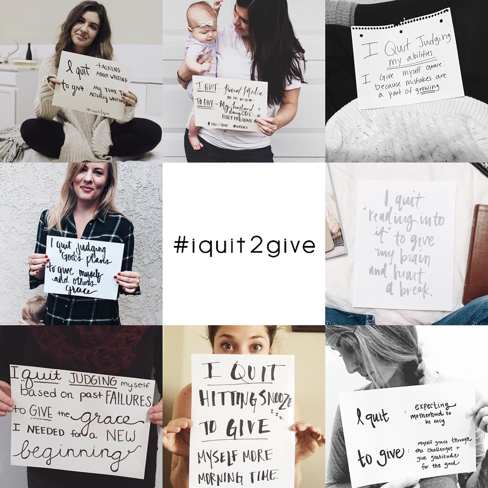 Quit to Give