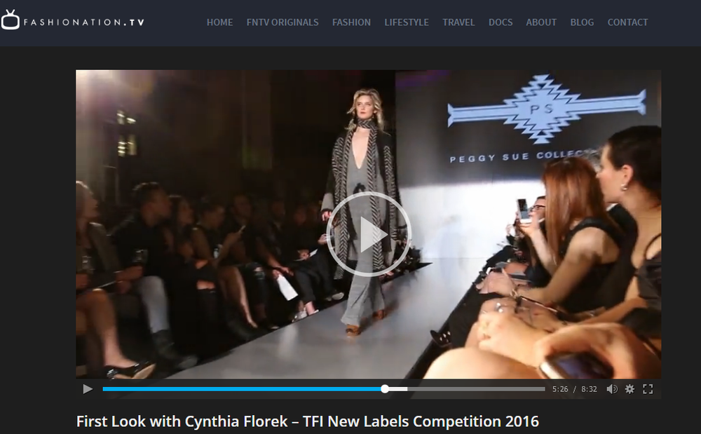 FASHIONATION.TV  First Look with Cynthia Florek
