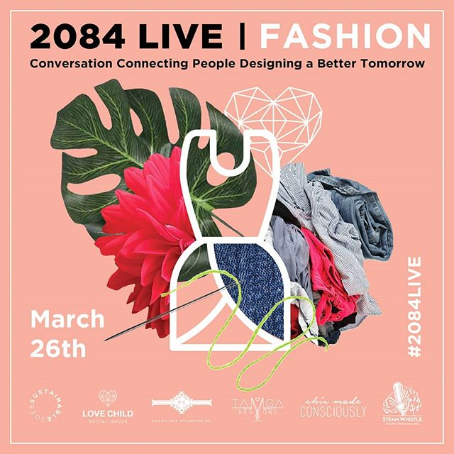 MARCH 26TH - tickets on sale NOW and they will not last.  We talk Sustainable Fashion with @sustainablejoes - with all of us #sustainableJANES at @lovechildsocial  My most favourite #fempreneurs take centre stage on this conversation @chicmadeconsciously And @tamgadesigns - come out and mingle w the beautiful people - inside and out - discount code for 25% off ONLY UNTIL SUNDAY-  2084PSC  https://sustainablejoes2084fashion.eventbrite.ca/  #starttheconversation #2084live #Toronto #torontofashion #sustainability #sustainablefashion #boom