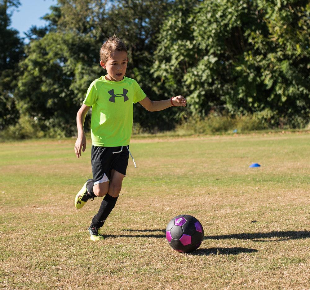 Soccer - Dribbling, Confidence, Passing