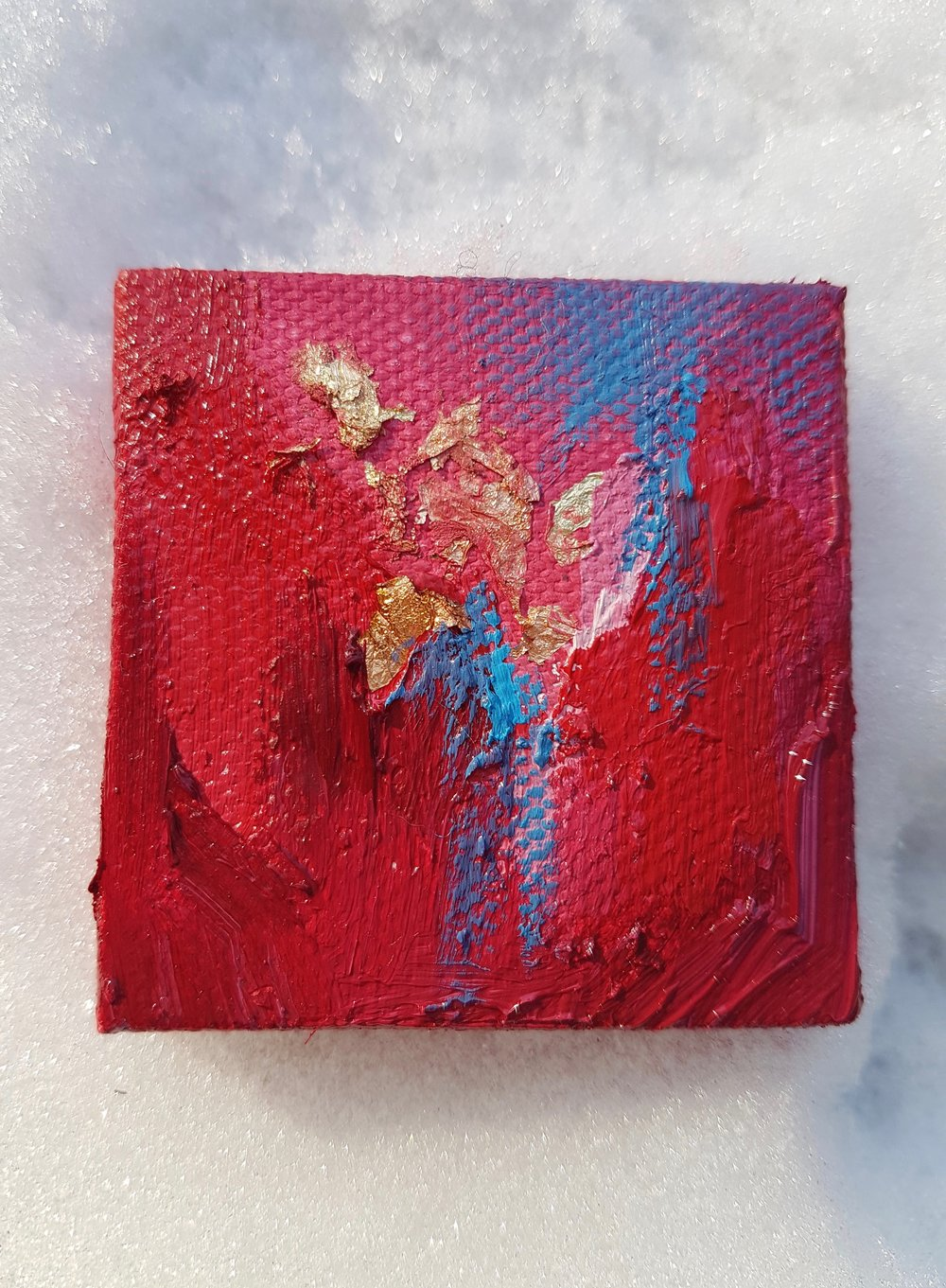 *SOLD* No. 18 - 2 x 2in (5.08 x 5.08 cm)