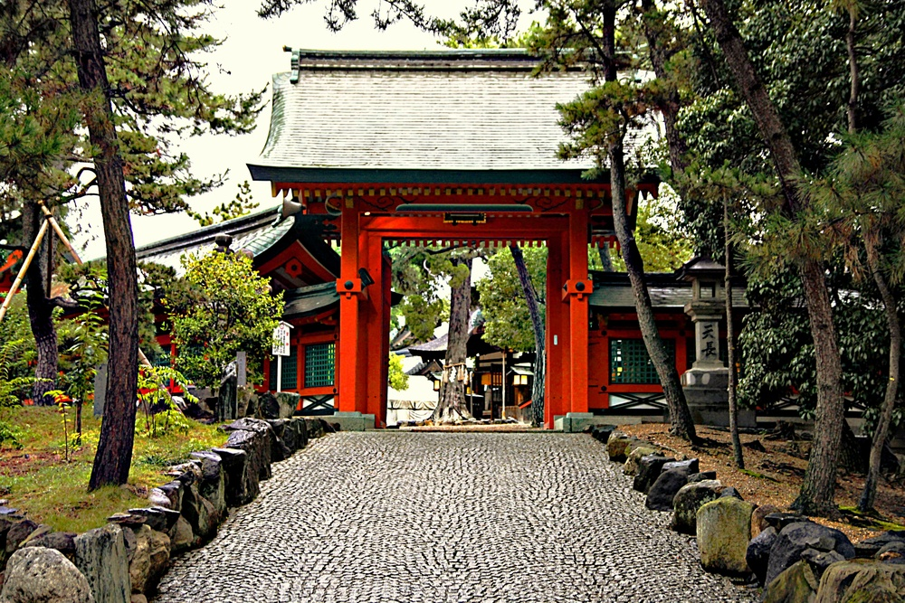 Entrance Shinto Temple  A102