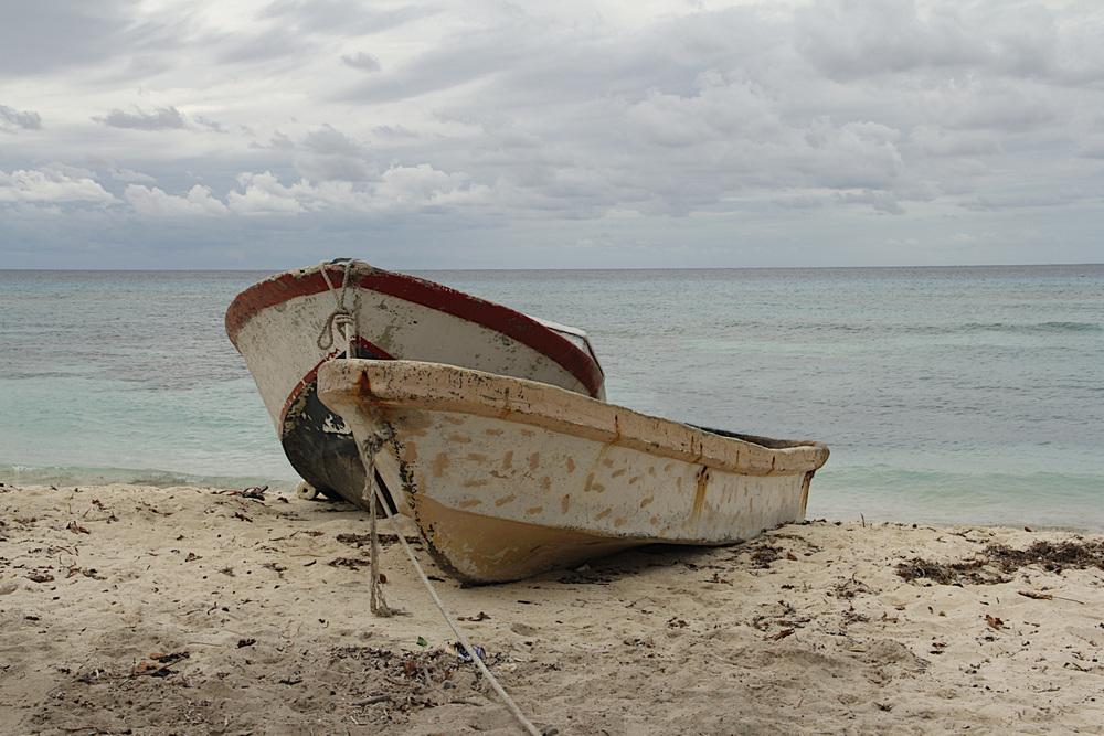 Boats on Beach  C101