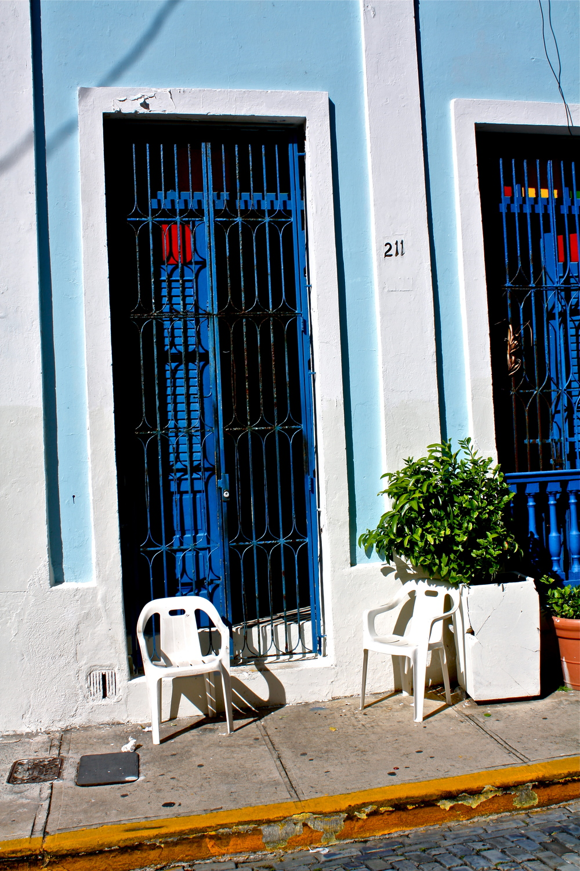 A Blue Door  C105