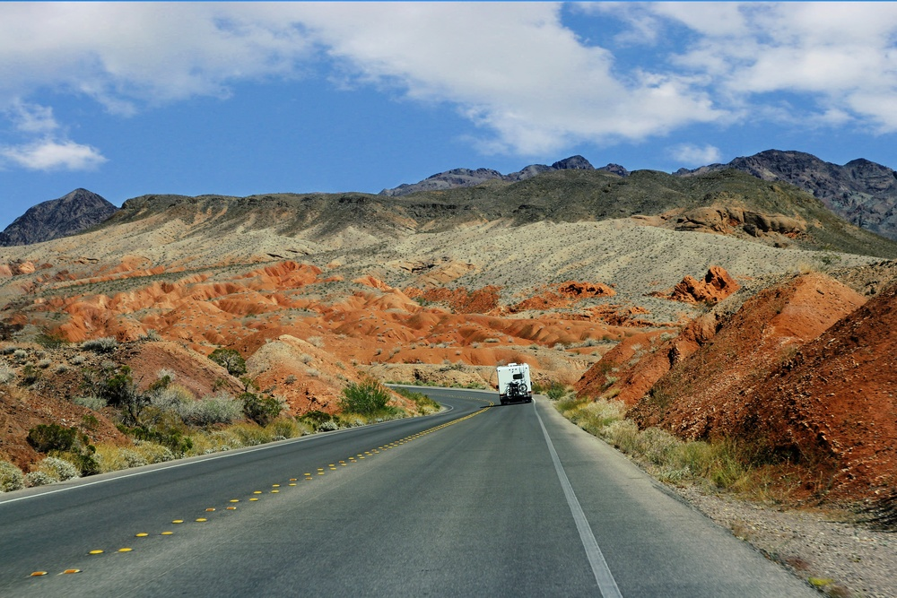 Traveling the Nevada Desert  U104