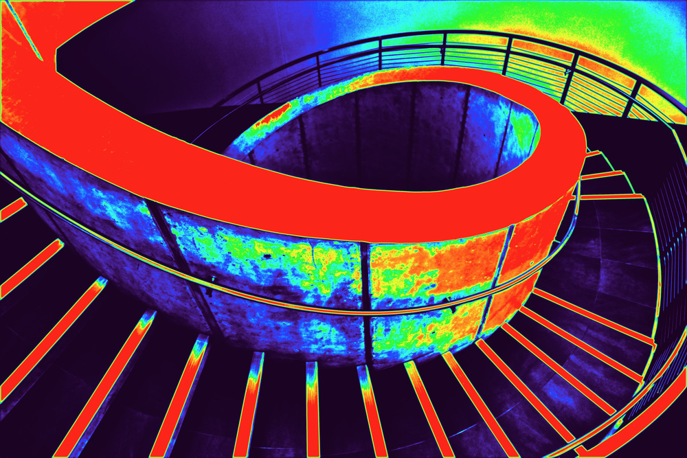 Psychedelic Stairway  W109
