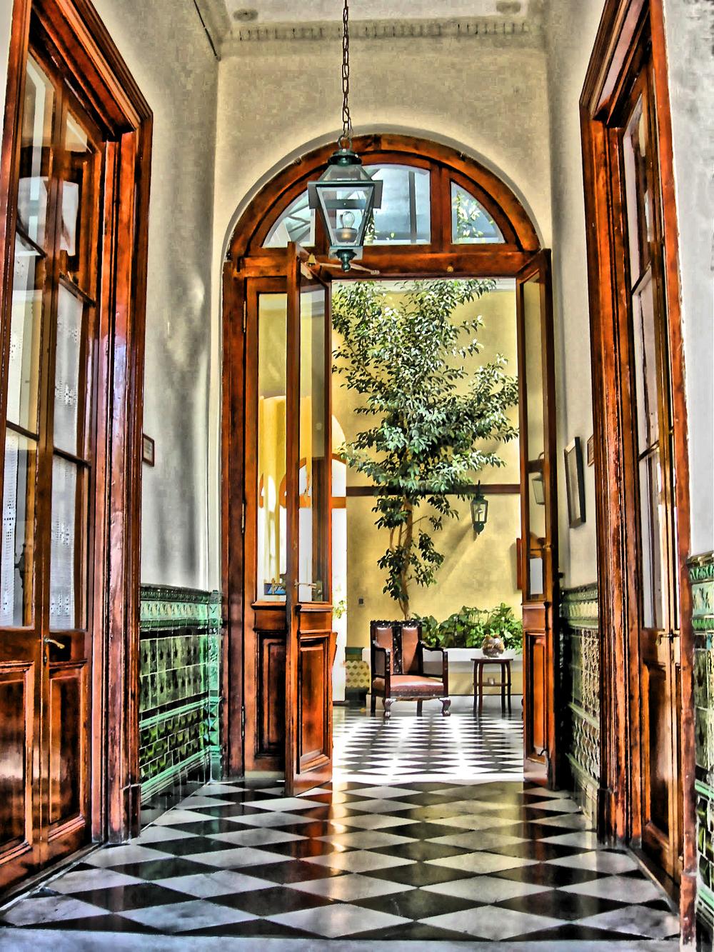 High Doors & Tile Floors  L106