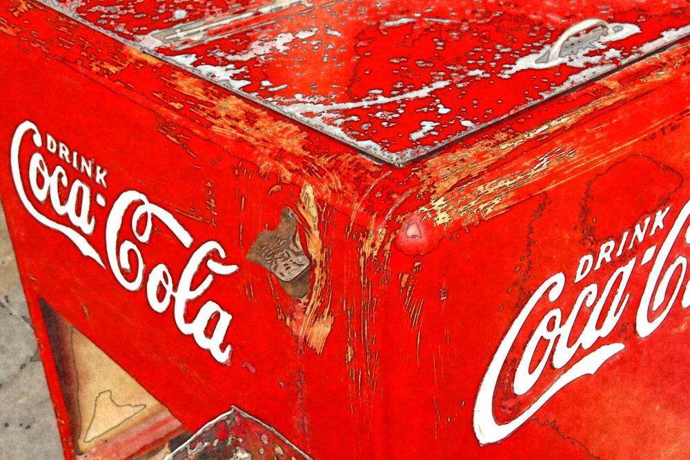 Vintage Ice Box  W119