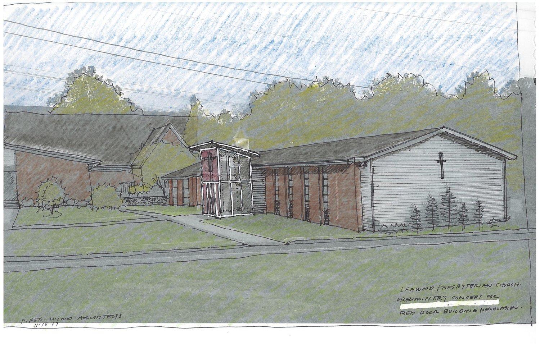 Red Door Renovation Leawood Presbyterian