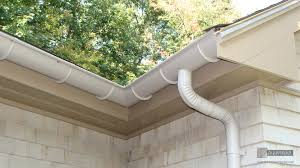 Half Round Style - Just as the name entails, the half round gutter is a half circle that has an open half face turned towards the direction of the roof. They are not very effective. Their depth reaches half of the k-5 gutters. When there is a slight leveling problem, there will be an overflow from the gutter. This happens when a flat back is unavailable. Due to the lack of flat back, the gutter hangers will be placed under the gutter so as to hold it up firmly instead of making use of hidden hangers