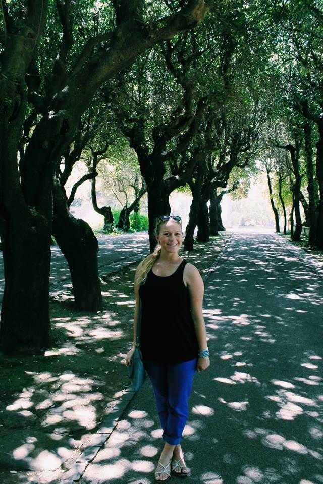 Rome, Italy- Cambria Bridget