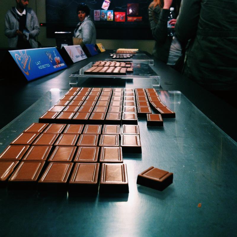 Callier Chocolate Factory || Cambria Bridget
