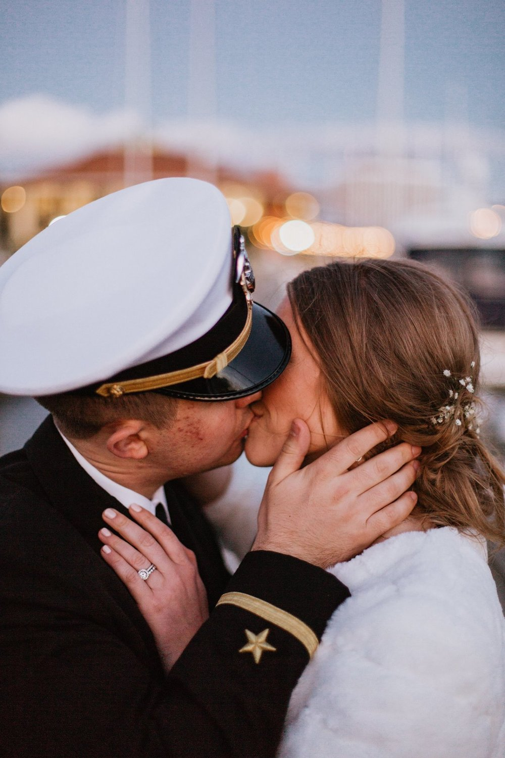 The Navy Teacher - Military Wedding