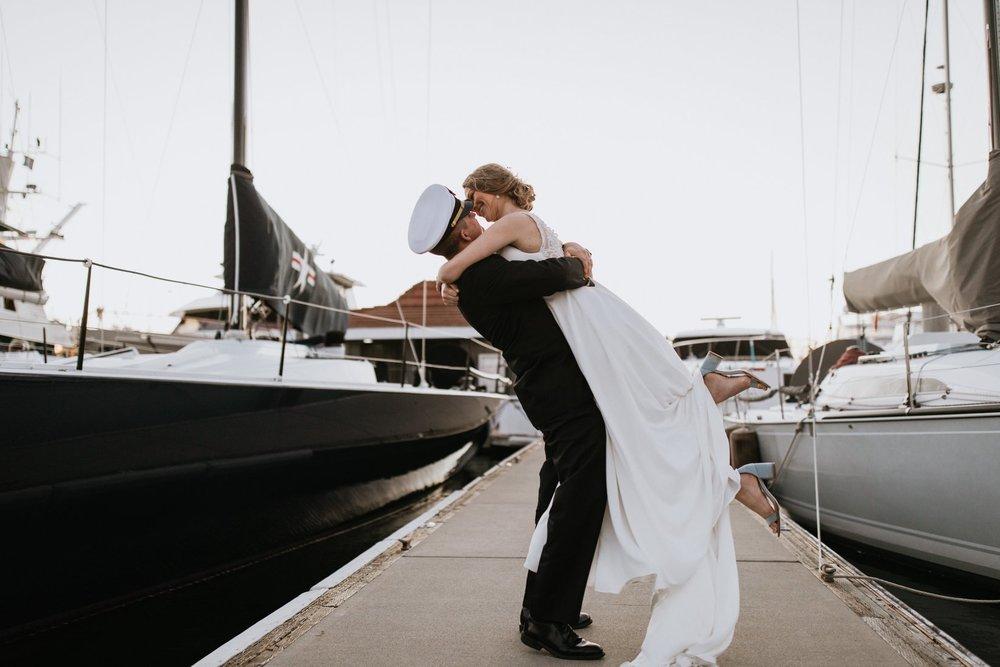 The Navy Teacher - Military Wedding