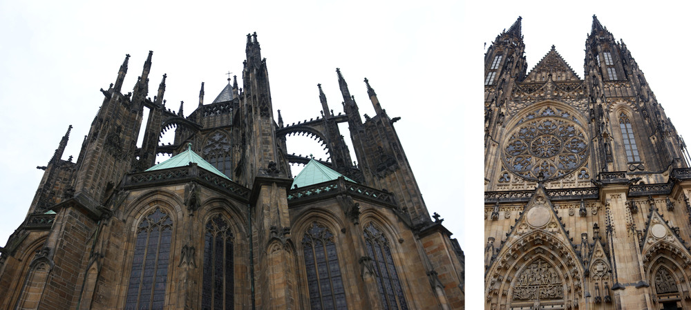 St Vitus Cathedral in Prague was stunning