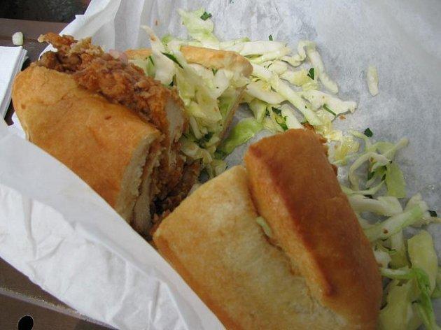 Chicken fillet roll