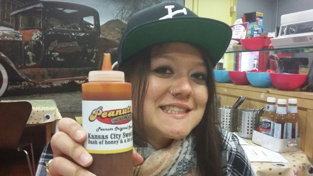 """Kansas City Barbeque"" Sauce found in Belfast. It wasn't bad."